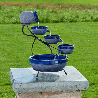 Smart Solar Cascade Fountain Solar Fountains