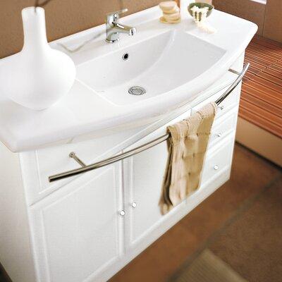 Acquaviva Ceramic Specialty Drop In Bathroom Sink Overflow