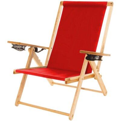 Blue Ridge Beach Chair Red