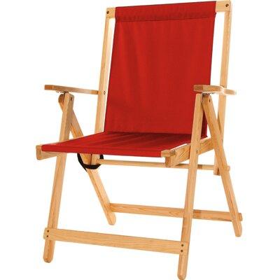 Blue Ridge Folding Beach Chair Red