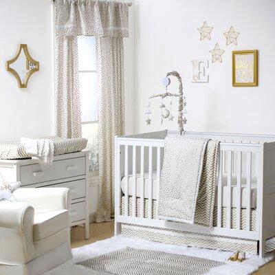 The Peanut Shell Glitters Confetti Crib Bedding Set That Nursery